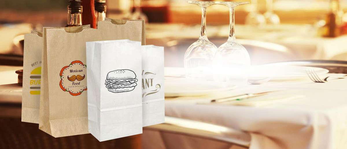 Food Service Paper Bags