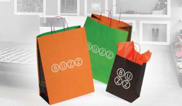 Custom Shopping Bags and Tissue Paper