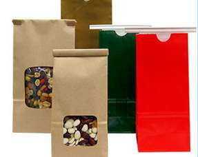 Stand Up Paper Bag Pouches