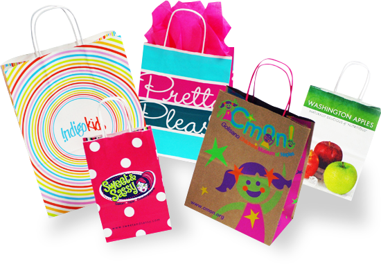 Custom Retail Shopping Bags